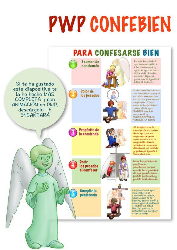 Presentación Pwp Confefácil Dibujos Y Cosas Para Catequesis Arguments Catequesis Oraciones Para Niños Los Sacramentos