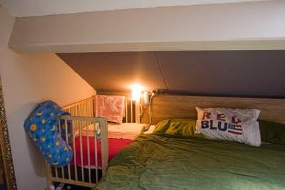 Ikea hack: cuna colecho, pegada a la cama de los papis : Baby-Deco