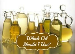There are so many different types of cooking oils available....but which one is the right one to use?