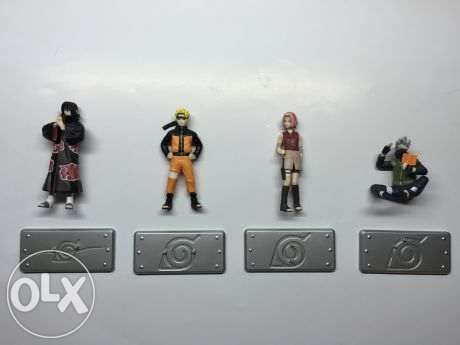 Naruto Figure Gashapon Set Of 4 For Sale Philippines