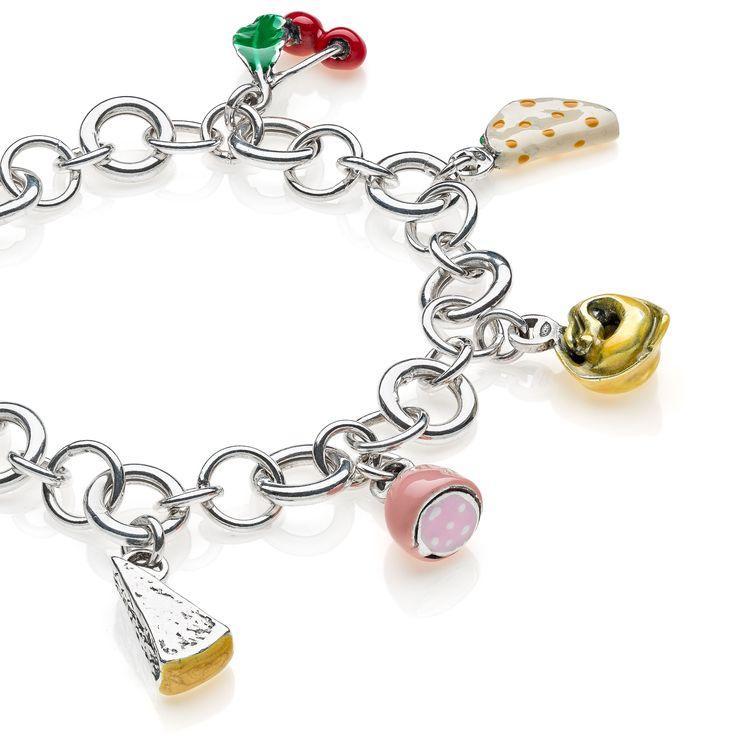 Sterling Silver Luxury Bracelet - Emilia Romagna - 249 Euro Free worldwide shipping over 99 Euro