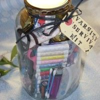 """This is the ultimate gift for any university student! I made up a """"university survival kit"""" for a friend who's just finished school and going off to varsity. www.qualivity.com"""