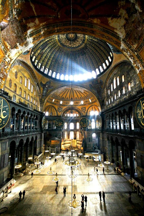 Hagia Sophia, ... Instanbul, Turkey, ... a World Heritage site <3 (NatGeo)