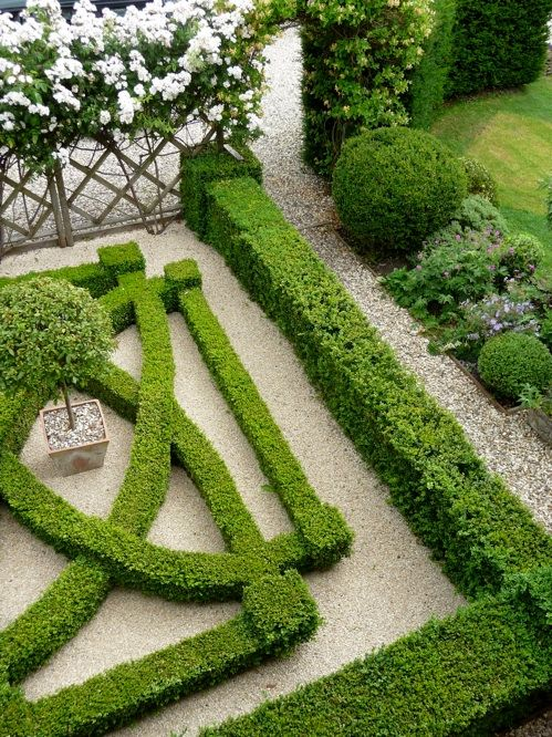 Knot Garden Design Front Gardens Garden Ideas