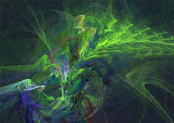 #abstract #fractal #cool #green #design