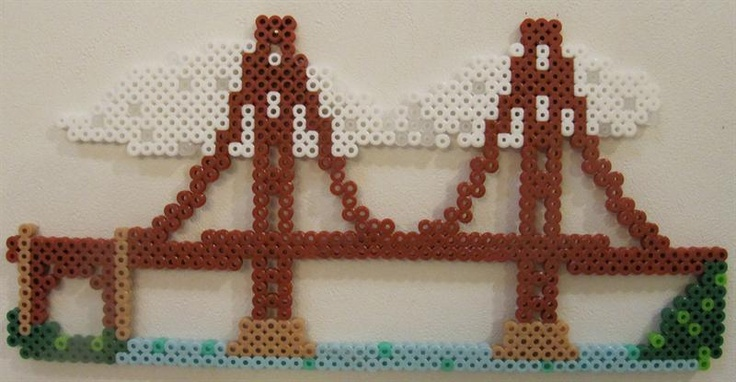 Bridge perler beads by Jean M. - Perler® | Gallery