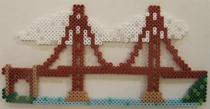 Bridge perler beads by Jean M. - Perler® | Gallery
