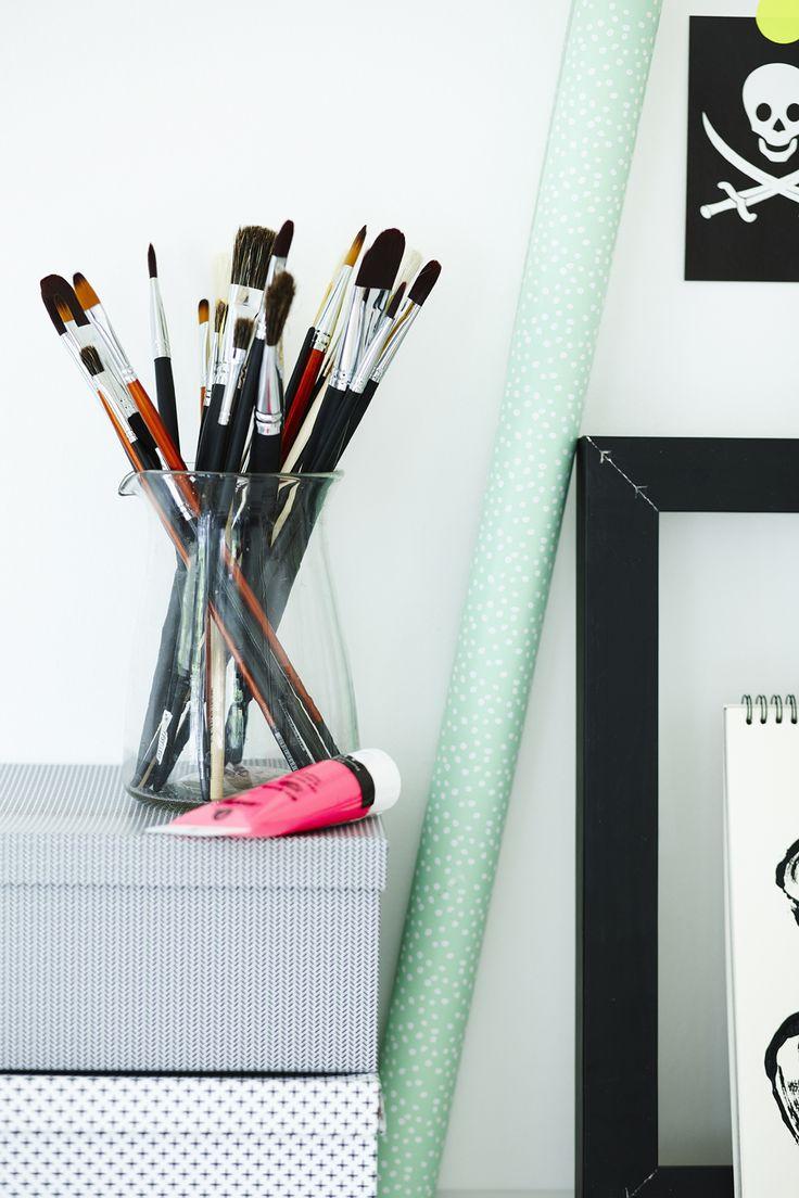 13 besten painting by sostrene grene bilder auf pinterest pinsel werkstatt und b ror ume. Black Bedroom Furniture Sets. Home Design Ideas