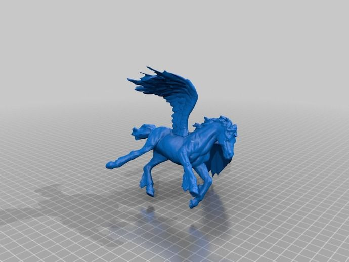 Pegasus by ajolivette - Thingiverse
