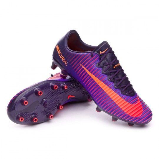 Bota  Nike Mercurial Vapor XI ACC AG-Pro Purple dynasty-Bright citrus-Hyper grape