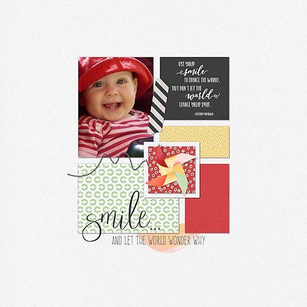 Emily's smile - Digishoptalk - The Hub of the Digital Scrapbooking Community