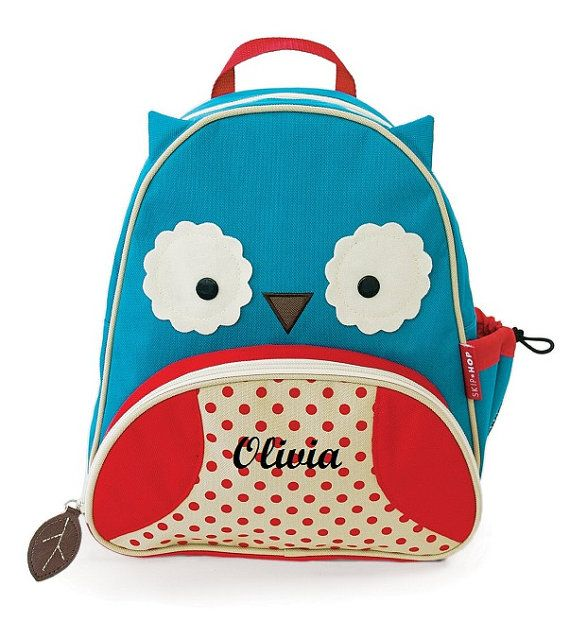Fun Personalized Kids Backpack Owl By NanasEmbroidery On Etsy