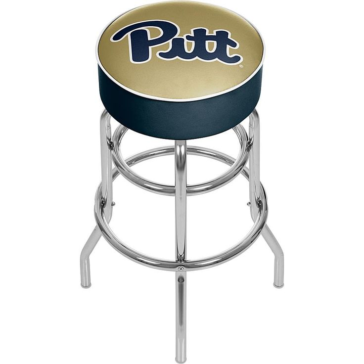 Trademark Global, Inc. University of Pittsburgh Padded Bar Stool