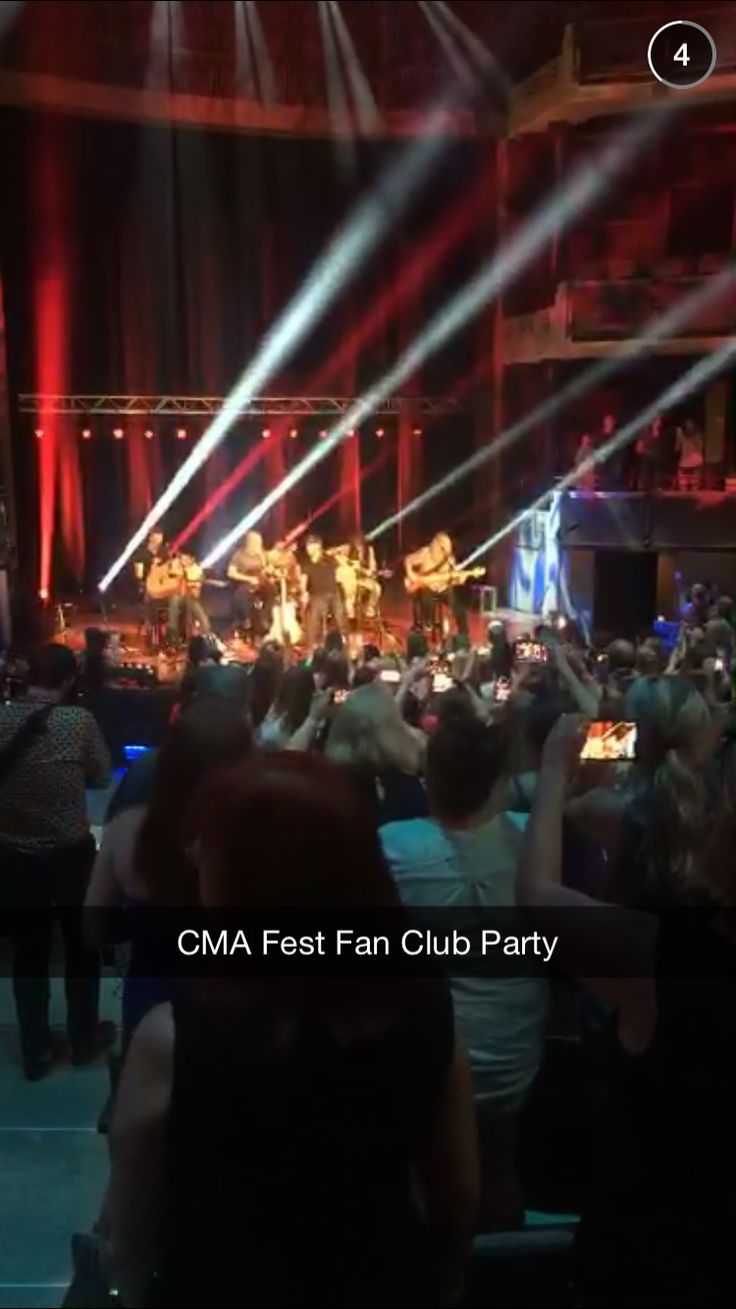CMA Fest Fan Club Party ❤️ Luke Bryan ❤️