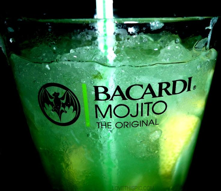 Bacardi Mojito party alcohol cocktails mojito bacardi