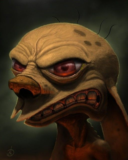 Realistic Illustration of Ren (from Ren and Stimpy fame)