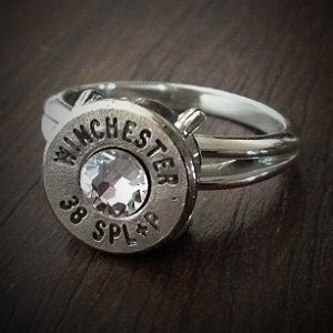 JECTZ® - Women's .38 Special Sharpshooter Bullet Ring, $49.95 (http://www.jectz.com/womens-38-special-sharpshooter-bullet-ring/)