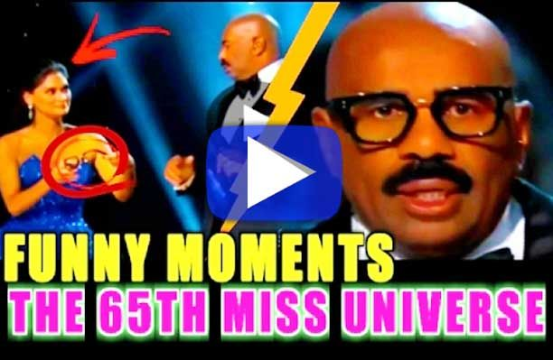 Steve Harvey Won Us Over In His Hilarious Moments During this Year's 65th Miss Universe!