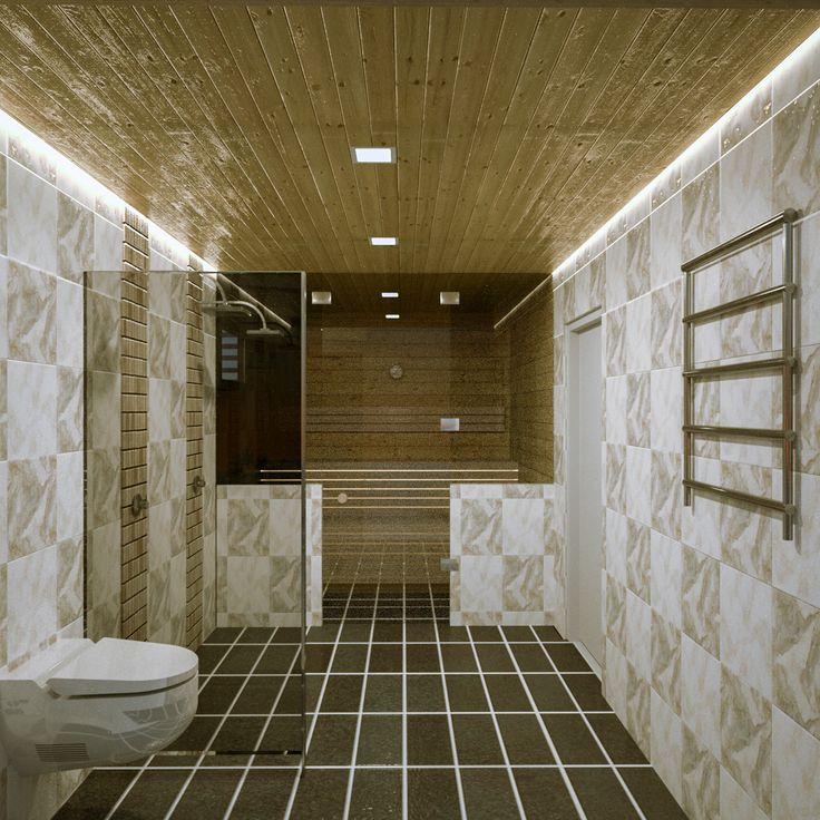Bathroom and sauna lighting design