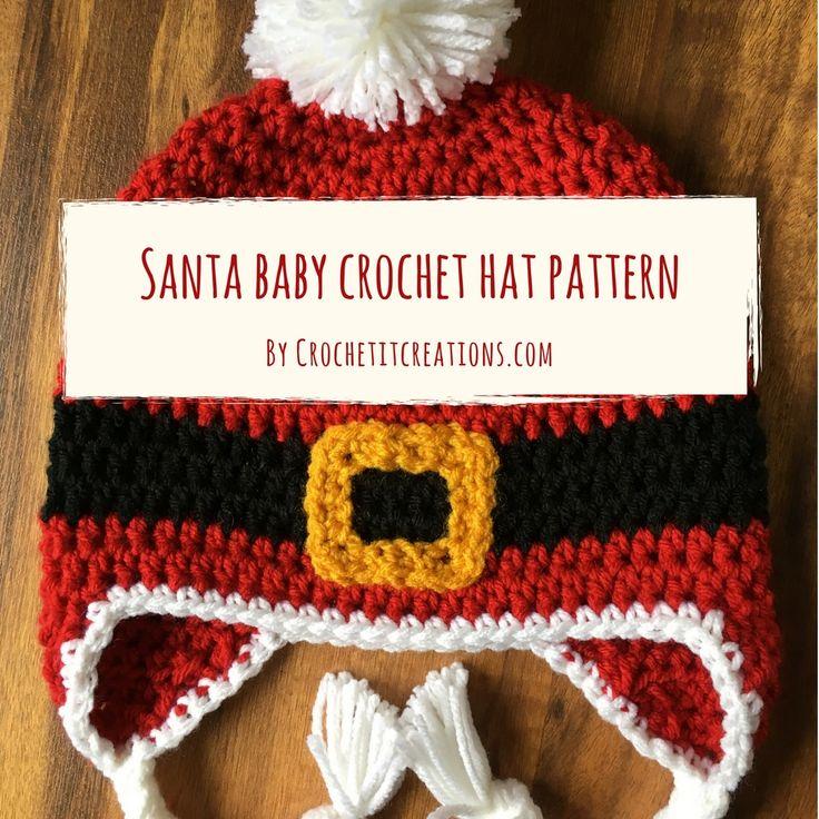 Vistoso Patrones De Crochet Libre De Santa Fotos - Manta de Tejer ...