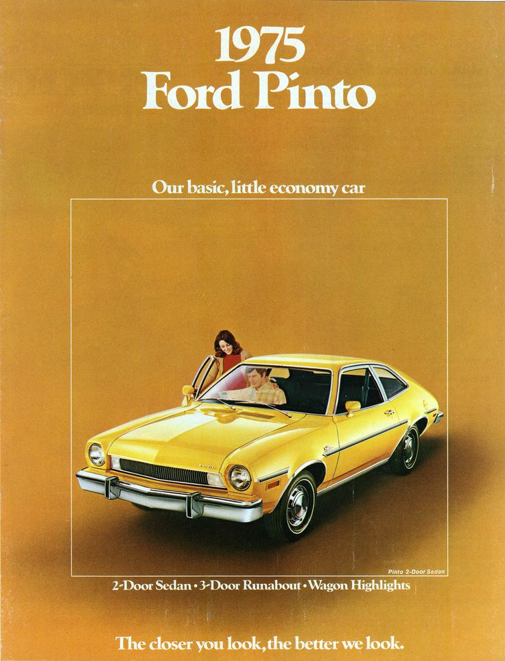 1975 Ford Pinto 2-Door Sedan | Alden Jewell | Flickr