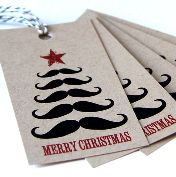 Christmas - too soon? Decoration and gift wrap ideas - plan ahead.  by BoulotDodo on Etsy