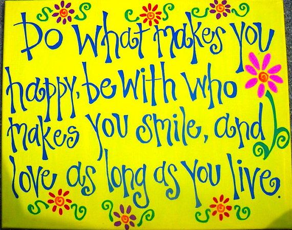 Hand painted Canvas Quotes by BEEhappyPaintings on Etsy, $30.00