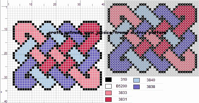 136 Free cross stitch designs celtic knots 2 stitchingcharts borduren gratis borduurpatronen keltische knopen kruissteekpatronen