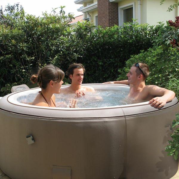 die besten 25 whirlpool aufblasbar ideen auf pinterest whirlpool garten aufblasbar whirlpool. Black Bedroom Furniture Sets. Home Design Ideas