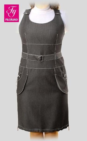 САРАФАНЫ ИЗ ДЖИНСОВОЙ ТКАНИ ДЛЯ ПОЛНЫХ ФОТО - Джинсовые платья для полных. | А вы не знали?