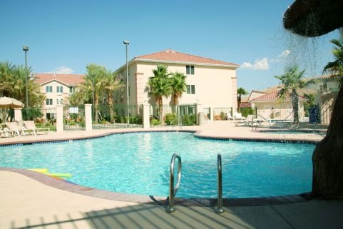 Highland Estates Hotel features Two Swimming Pools and a Hot Tub!
