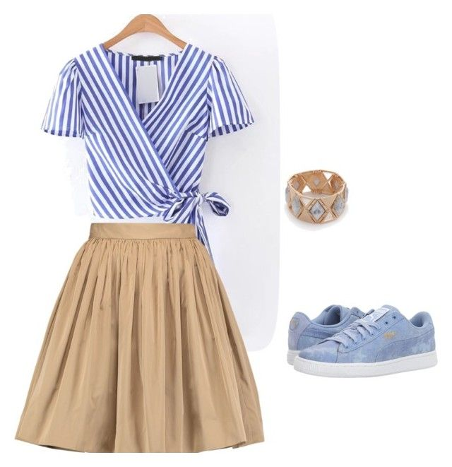 Противоположные цвета by explorer-14993517701 on Polyvore featuring мода, MSGM, Puma and New Directions