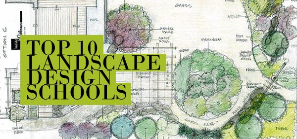Top 10 landscape design schools graphics pinterest for Landscape design classes
