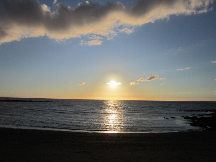 sunset Aberystwyth