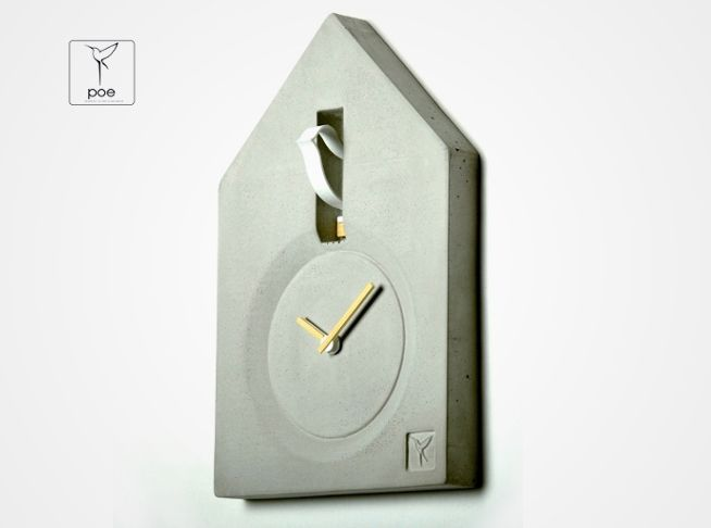 Concrete+Clock+from+product+of+environment+by+DaWanda.com