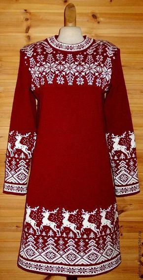 платье вязаное-36