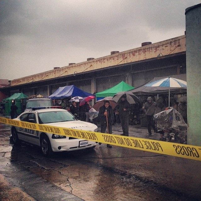 Castlegrip: #castle #bts #setlife we have one exterior scene before we move inside.  It just could not wait!