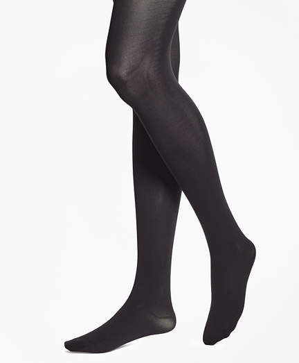 243aaba9d Brooks Brothers Opaque Nylon Tights