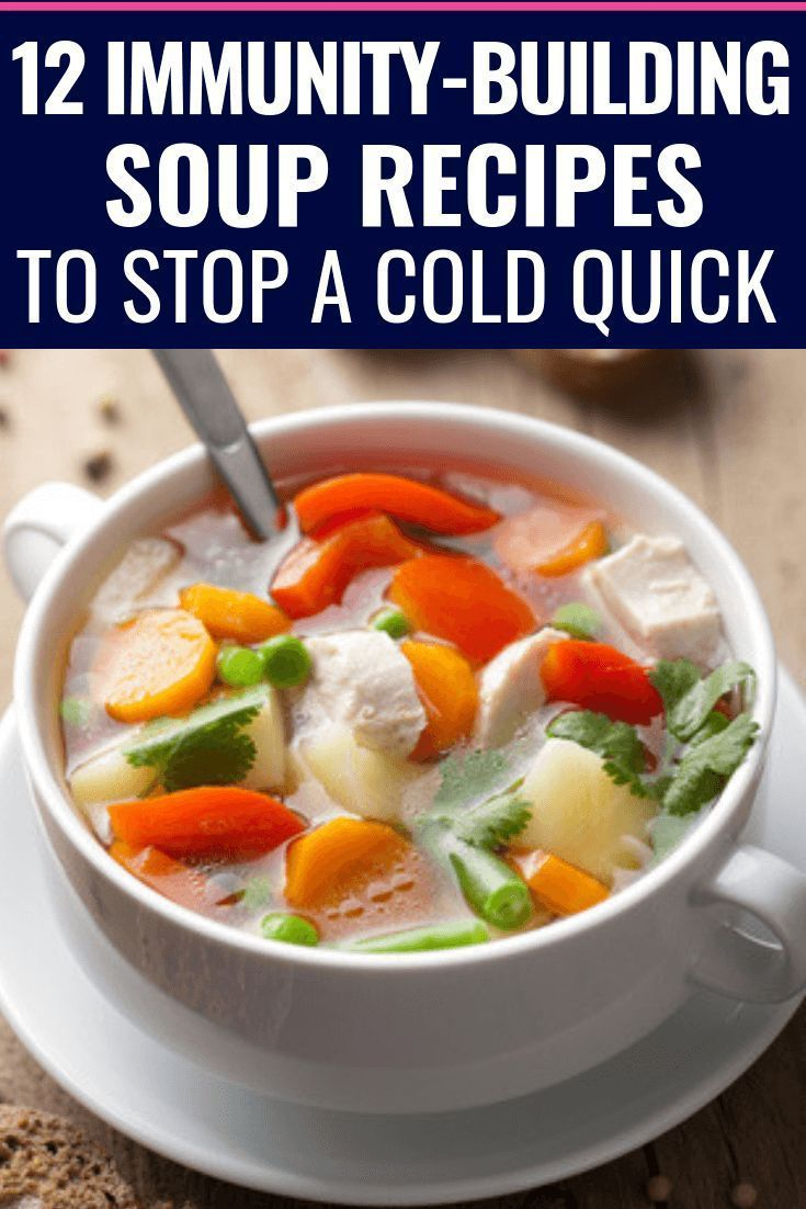 12 Immunity Boosting Soup Recipes Looking for healthy soup recipes to feel bette…