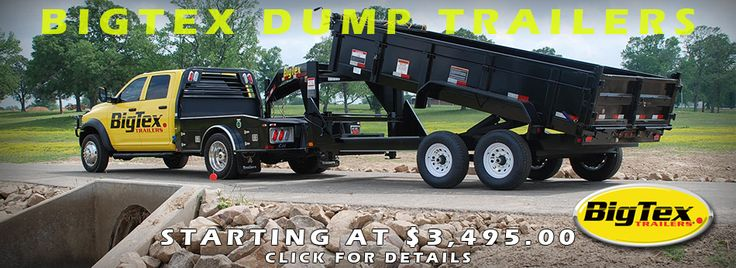 We provide best dump trailer in South Florida with many options. At All American Trailer customers can get the options according to their requirement.