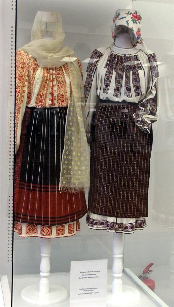 Traditional Romanian folk clothing - Prahova