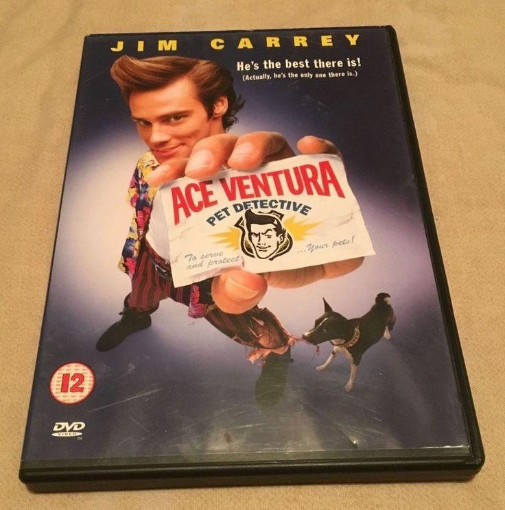Ace Ventura - Pet Detective (DVD, 2000) - Excellent Condition & Free Postage