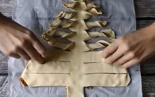 Nutellakerstboom