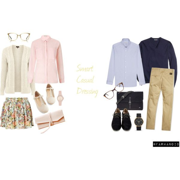 """""""Smart Casual Dressing"""" by farhanoid on Polyvore"""