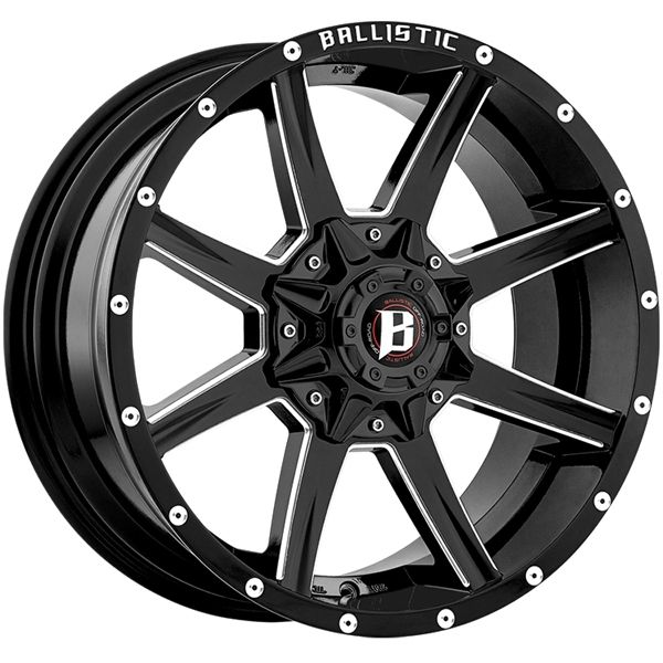 COUPON CODE INSIDE! BB Wheels is your #1 source for Ballistic Razorback wheels and rims online. Guaranteed Best Discount Prices Online. Call Us! 320-200-2677.