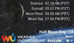 Find more about Weather in Half Moon Bay, CA