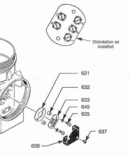 Asco 324117 Terminal Block #3 Kit for Hydramotor Actuators