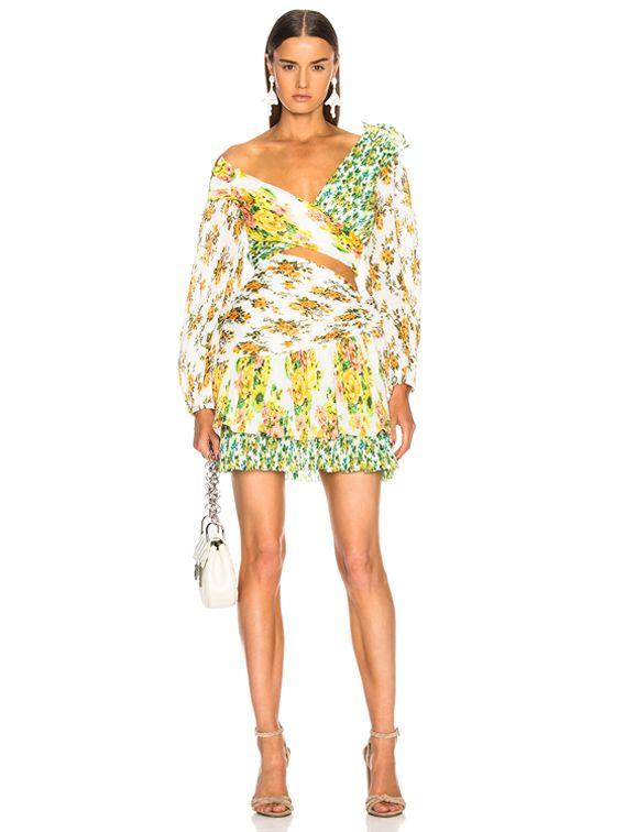 Zimmermann Golden Surfer Dress In Spliced Fwrd Dresses Fashion Clothes For Women