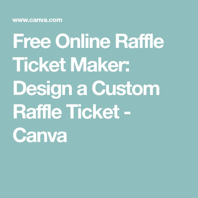 Best 25+ Ticket maker ideas on Pinterest Free ticket maker - free ticket maker
