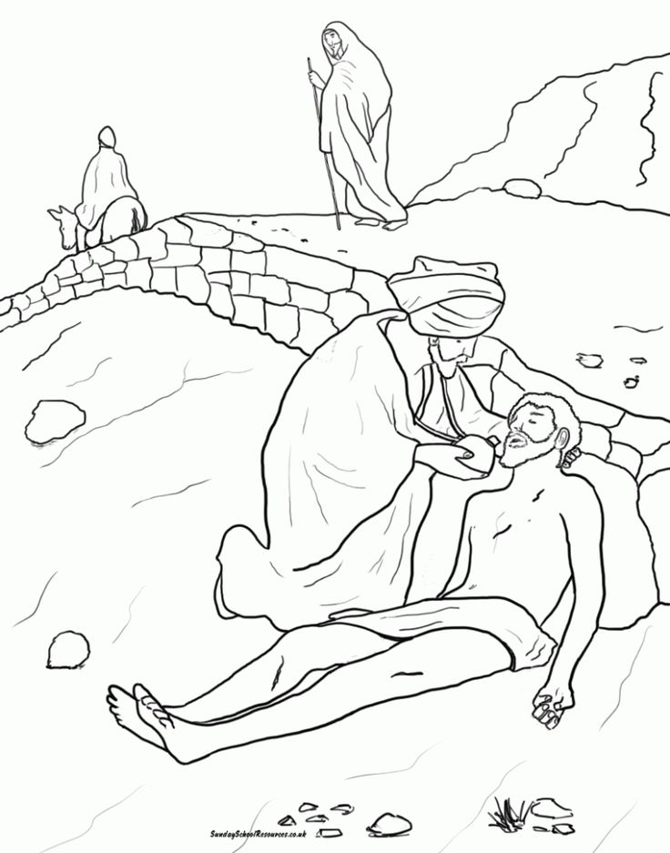 Five Good Samaritan Coloring Page Tips You Need To Learn